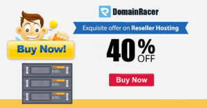 Domainracer Coupon Discount 2019 [Starting a self-hosted website at Domainracer] 1