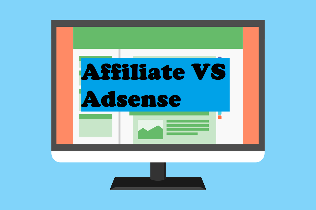 Affiliate vs Adsense