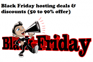 Black friday web hosting deals 2018