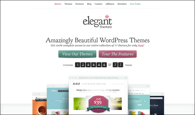 Elegant-themes-Cyber Monday