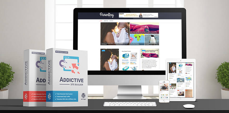 Addictive site builder review:Real user Review+Bonus+Discount