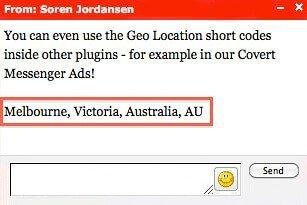 Covert Geo Targeter Review- Messenger ads