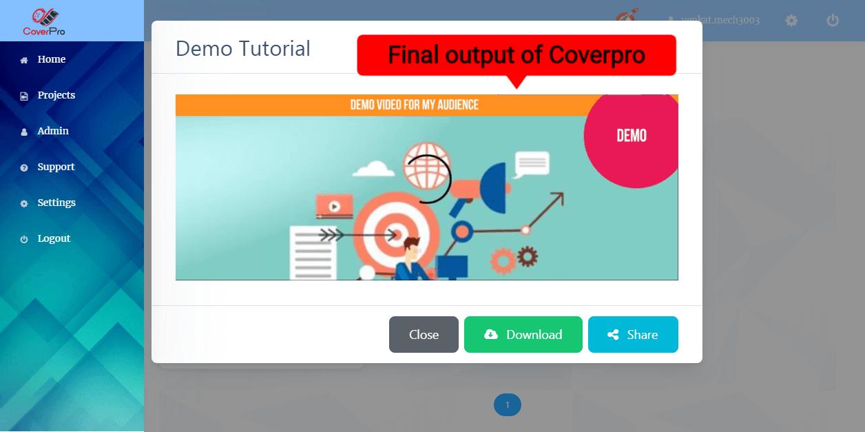 Cover Pro Output (video app suite Review)