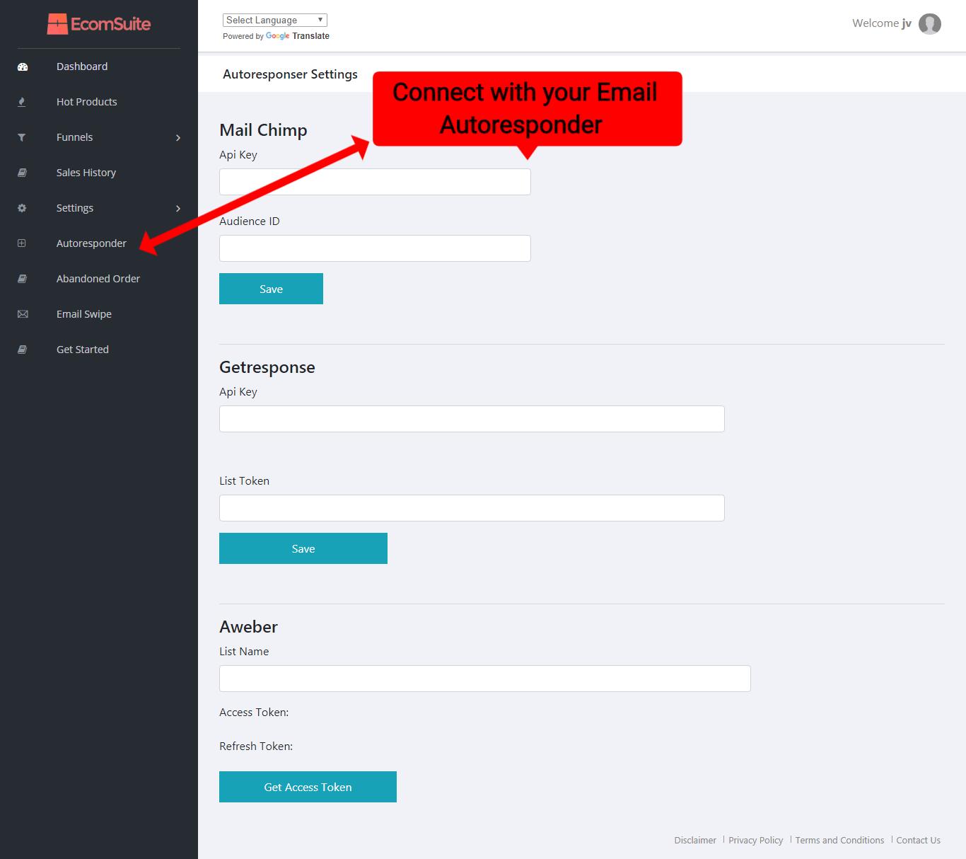 Ecomsuite Review-Connect Autoresponder