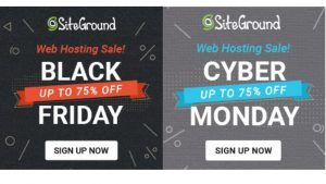 Siteground Black Friday 2019 and Cyber Monday deals {80% off Here} 1