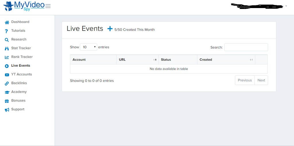 Step 6 Live events