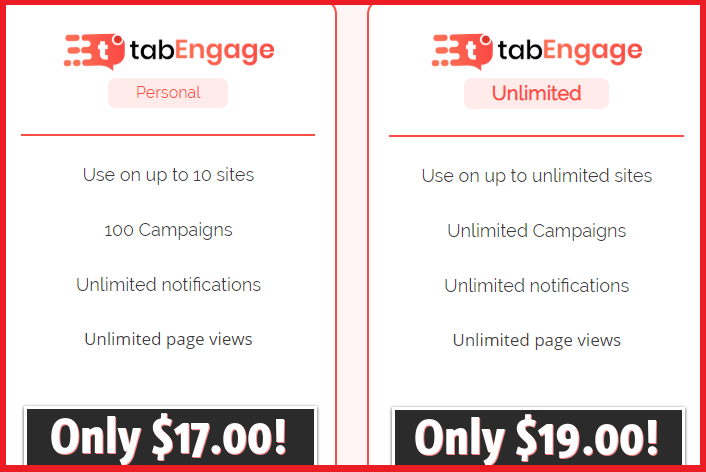 TabEngage-Review-Pricing