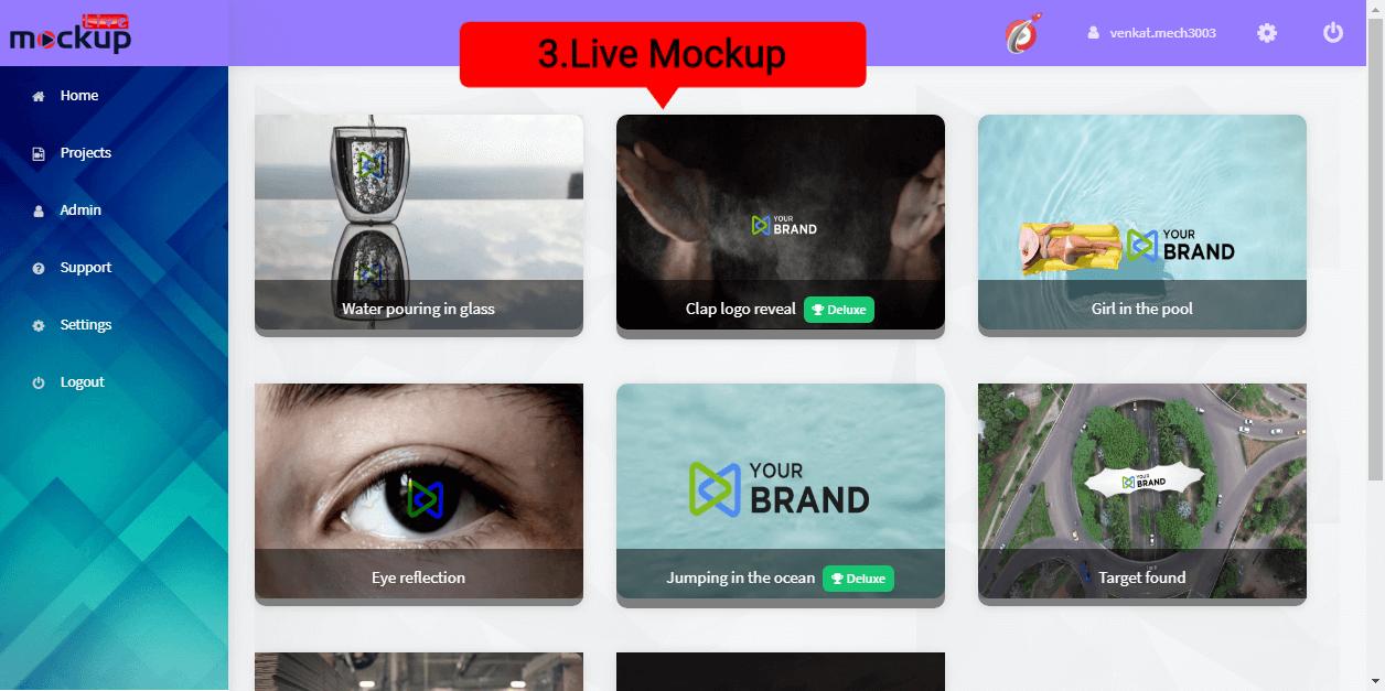 Live Mockup