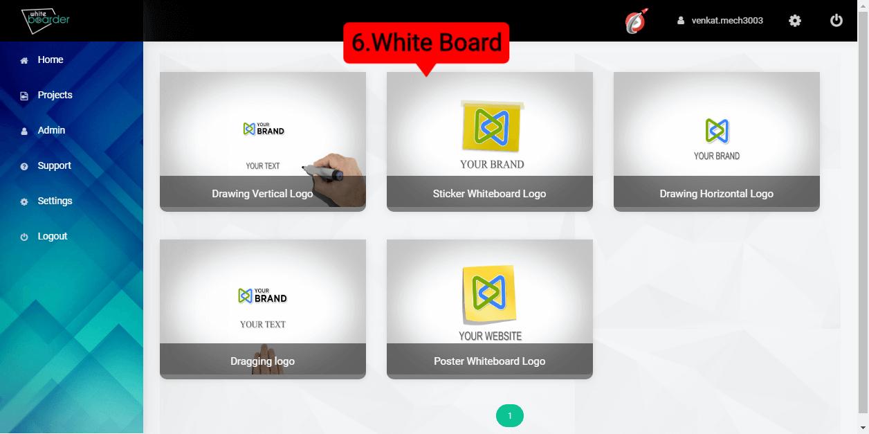 6.White Board