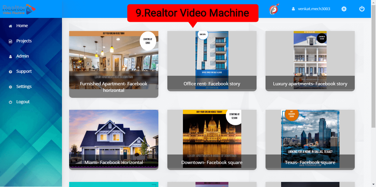 9.Realtor Video Machine