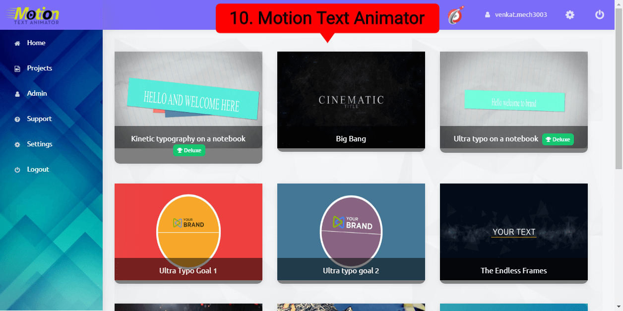 10.Motion Text Animator