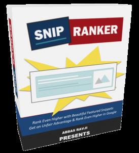 SnipRanker Review: Massive Bonus+Discount+OTO's+Demo 1
