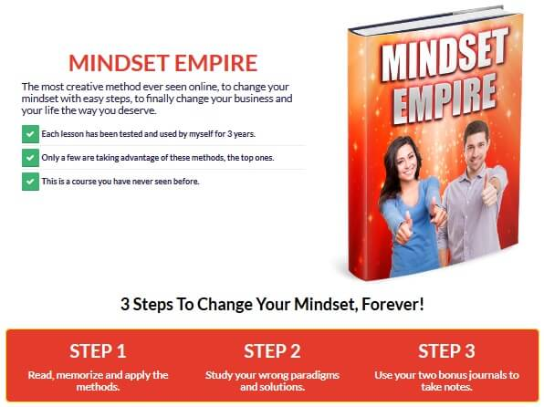 Mindset Empire Review Detail