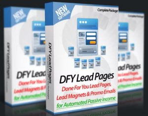 DFY Lead Pages Review: Massive Bonus+Discount(Save 40%)+OTO+Jv 1