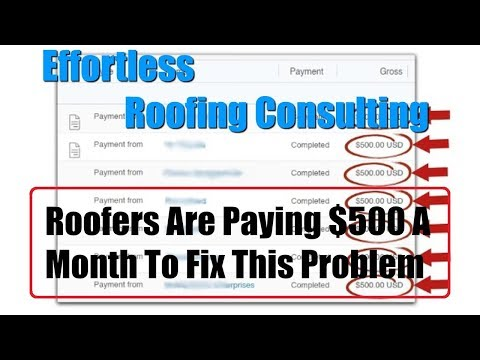 Effortless Roofing Consulting Review 1