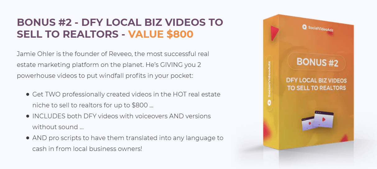 Ssocial video ADZ Review Bonus