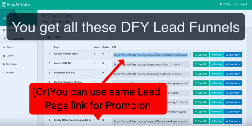 DFY Lead Pages Review 5