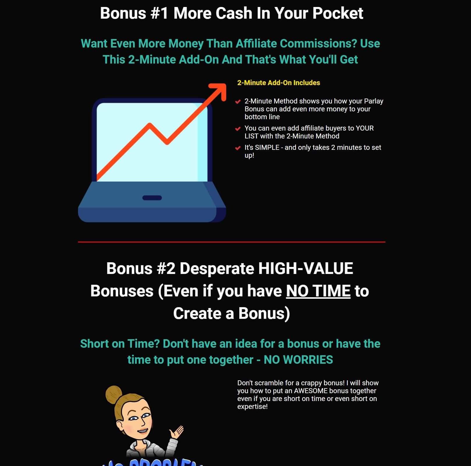 Parlay Review Bonuses