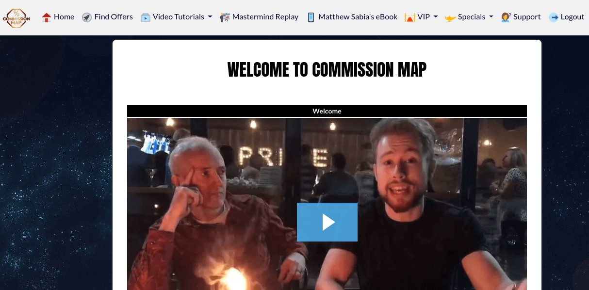 Commission Map Review members area