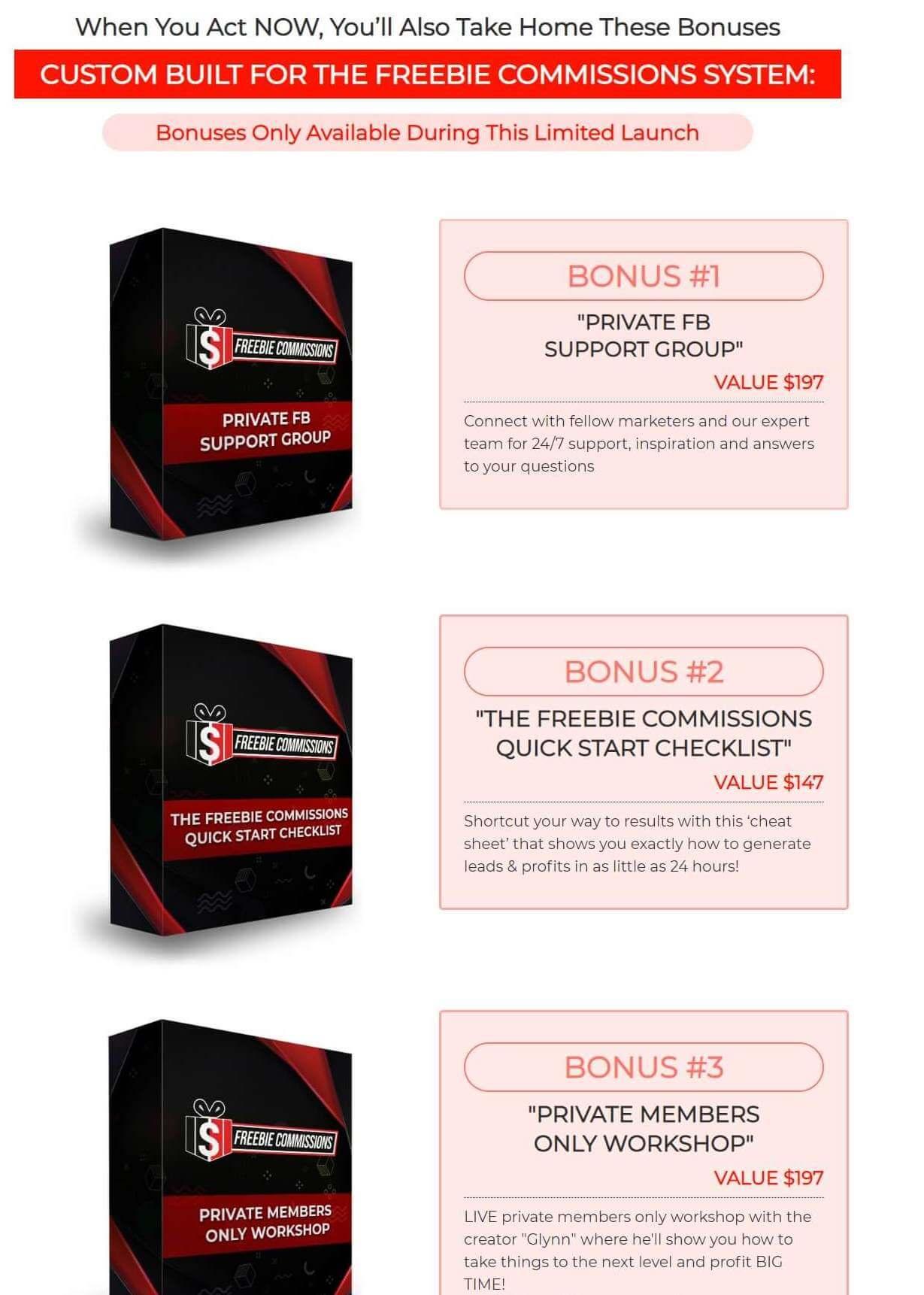 freebiecommissions Bonuses (1)