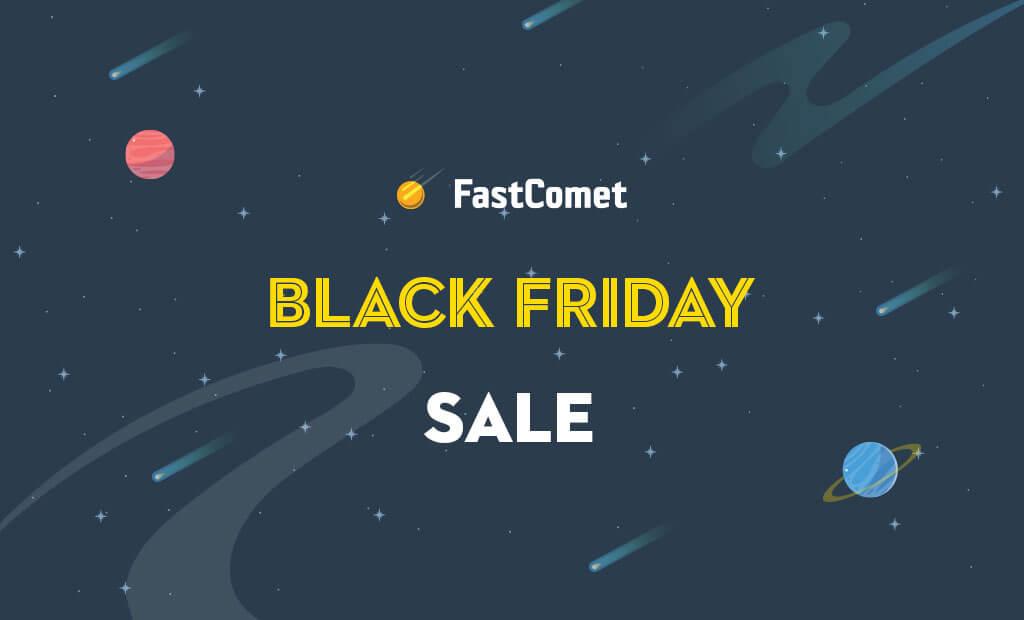 FastComet Black friday