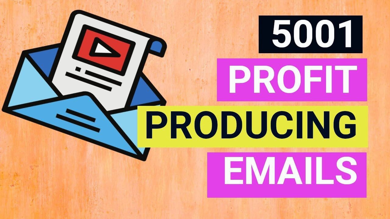 5001 profit producing emails review