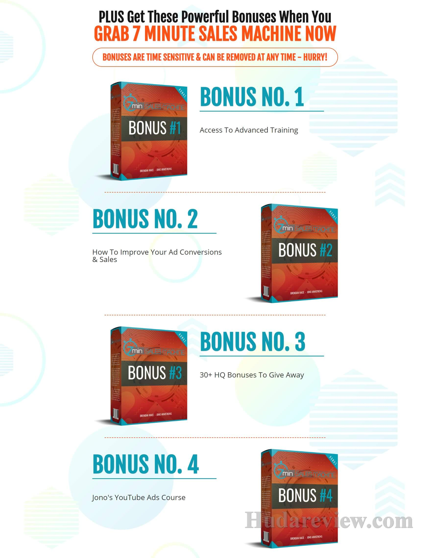 7 min Sales Machine Bonus